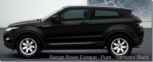 Range Rover Evoque - Pure - Santorini Black