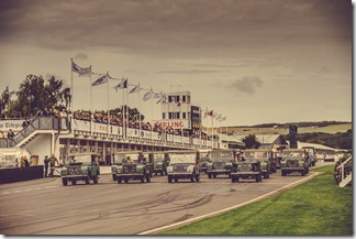 Jaguar Land Rover Goodwood Revival 2015