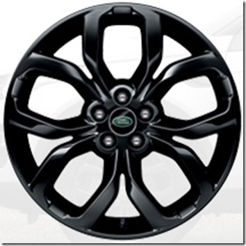 L550-19 inch Five Split-Spoke 'Style 521' with Gloss Black Finish