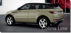 Range Rover Evoque 5-door Dynamic - Colima Lime