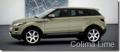 Range Rover Evoque 5-door Pure - Colima Lime