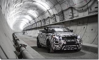 Range Rover Evoque Convertible at Crossrail (2)