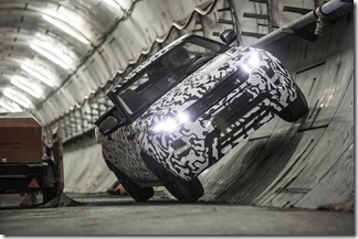 Range Rover Evoque Convertible at Crossrail (3)