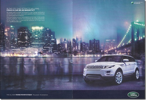 Range Rover Evoque - The power of presence
