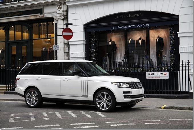 Range Rover LWB in London (6)