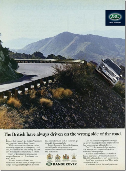 The_British_have_always_driven_on_the_wrong_side_of_the_road