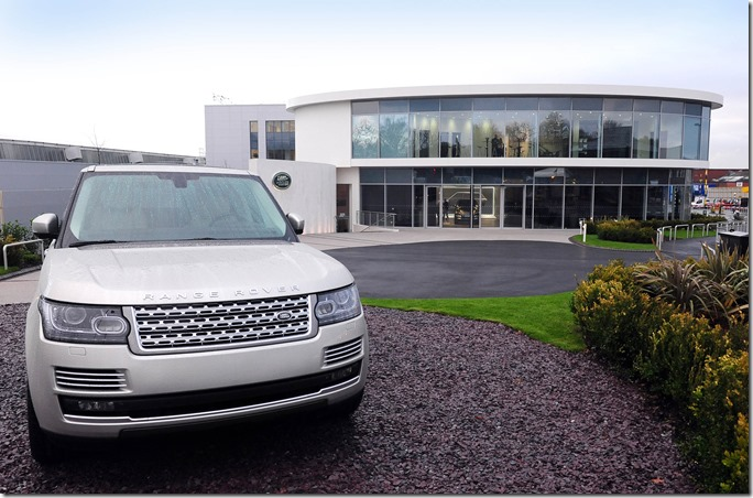 Visitor Centre at Land Rover Solihull (5)