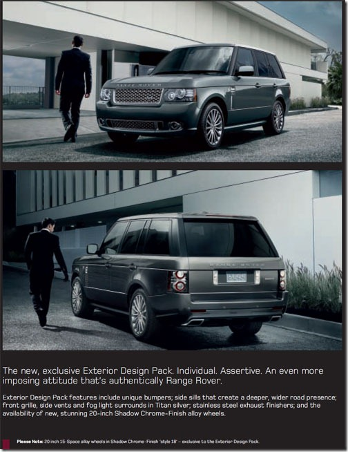 2011 range rover exterior design pack