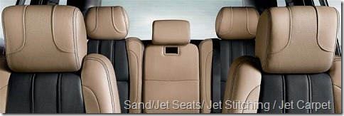Sand-Jet Seats-Jet Stitching-Jet Carpet
