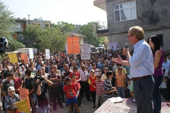Pazarcık halkı Gaziantep'e akın etti