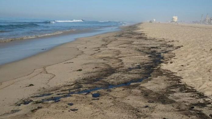 Kaliforniya kıyılarındaki büyük petrol sızıntısı 'ekolojik bir felaket' olabilir