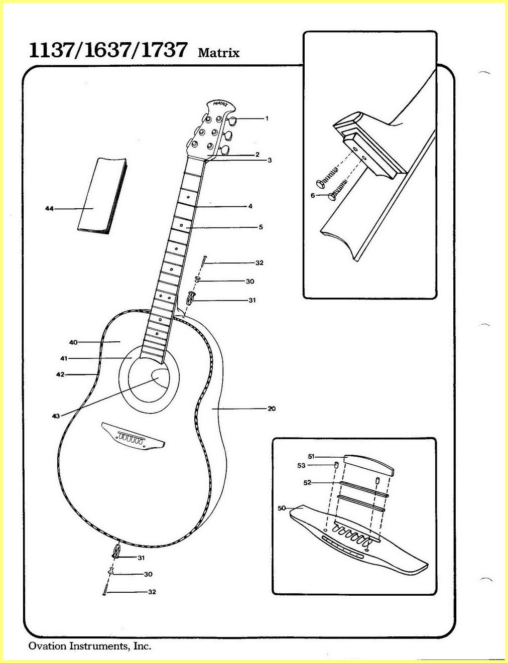 Ovation Applause Ae 35 Wiring Diagram : 37 Wiring Diagram