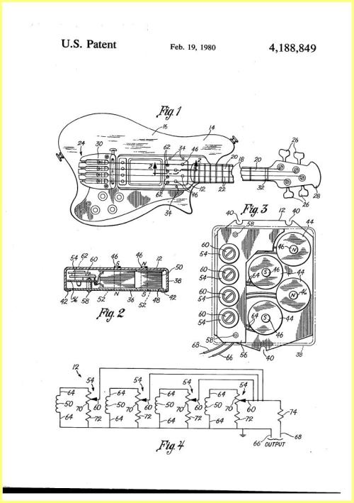 small resolution of ovation magnum bass pickup 1979 patent active pickup wiring ovation pickup wiring diagram