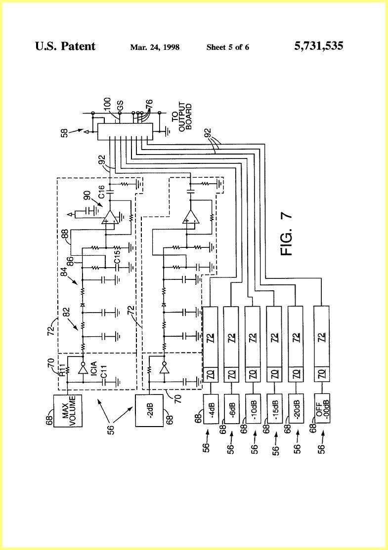 Ovation Proximity Sensitive Control Circuit 1997 Patent