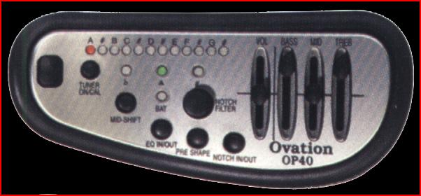 Ovation Preamps