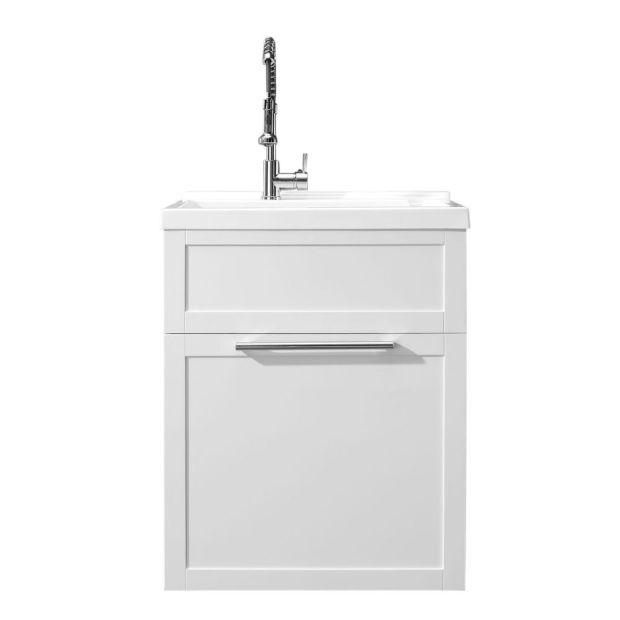 donna iii utility vanity 28 pure white
