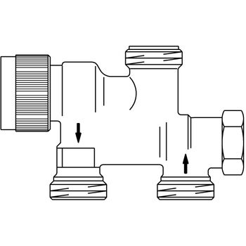 Radiator Balancing Valve Honeywell Thermostatic Control