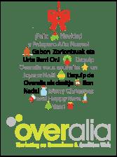 Felicitación navideña de Overalia 2012