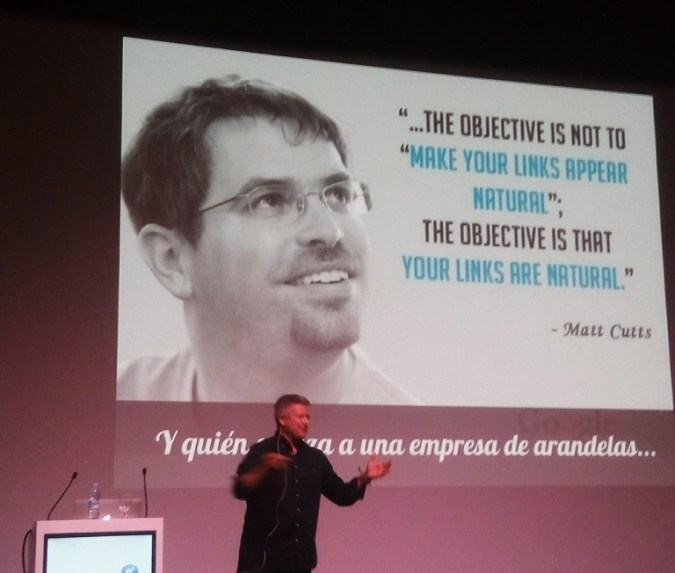 Taller de Jorge González sobre linkbuilding