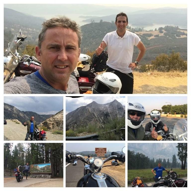 Ruta en Harley por Yosemite