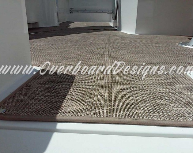 Overboard Designs  Marine Carpeting Snapin carpeting