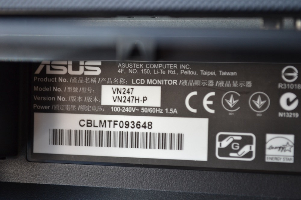 asus vn247h p a