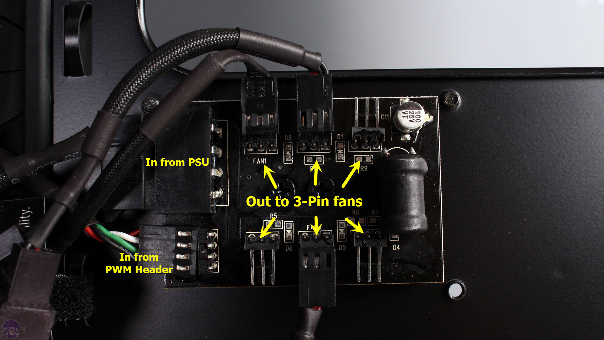 hight resolution of phanteks pwm fan hub