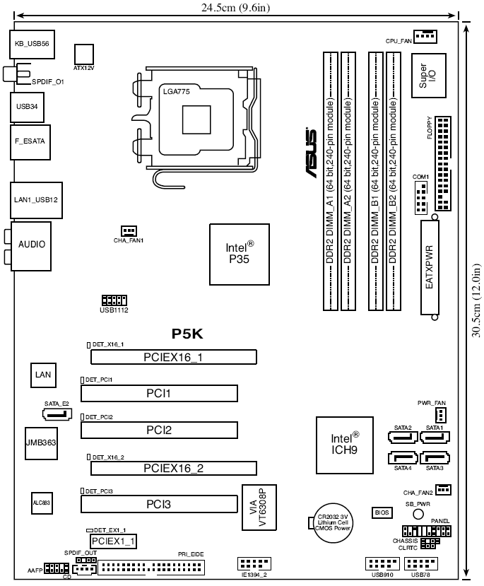 ASUS P5K SE EPU USER MANUAL Pdf Download. (Инструкция asus