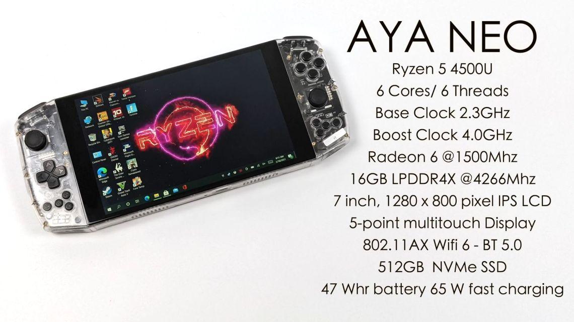 Aya Neo Founder