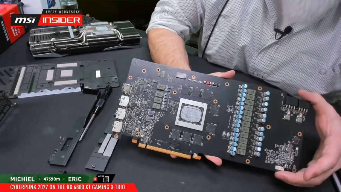 Radeon RX 6800 XT Gaming X Trio