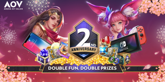 AOV 2nd Anniversary! Double Fun, Double Prize