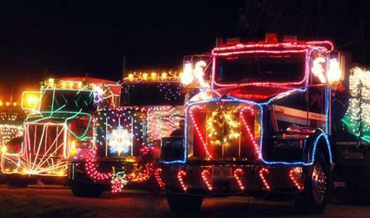 When And Where To Find This Years Trucking Christmas Parades