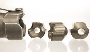 BOSS Lanyard Bead - Titanium