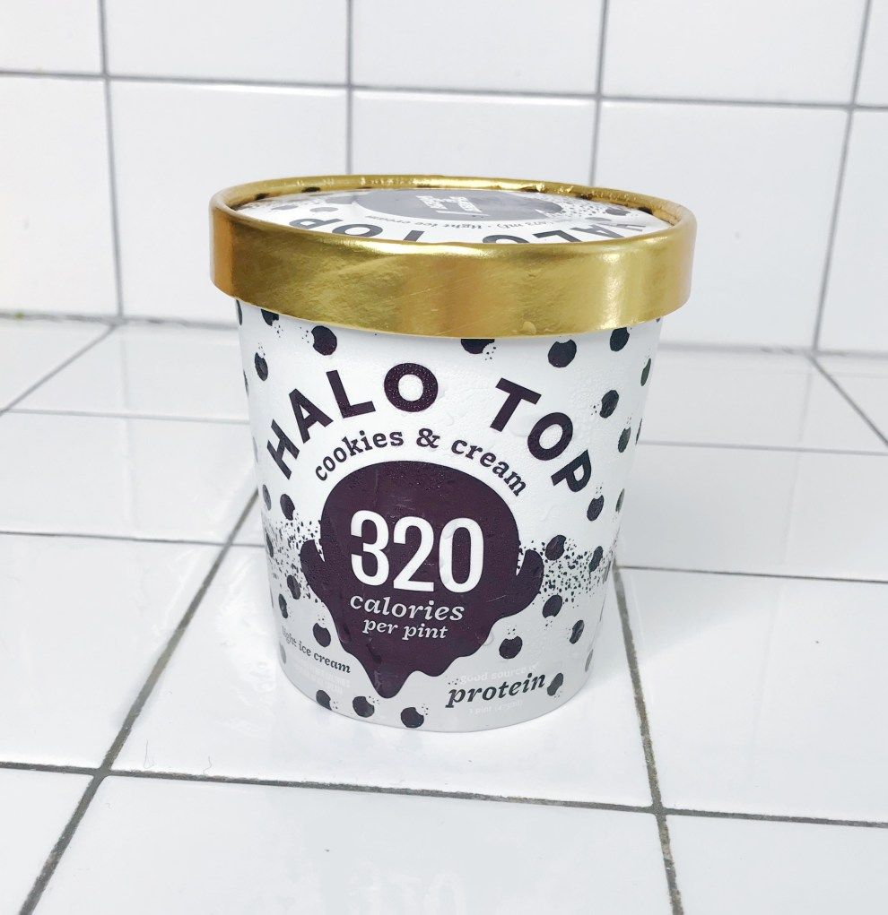 halo top cookies and cream