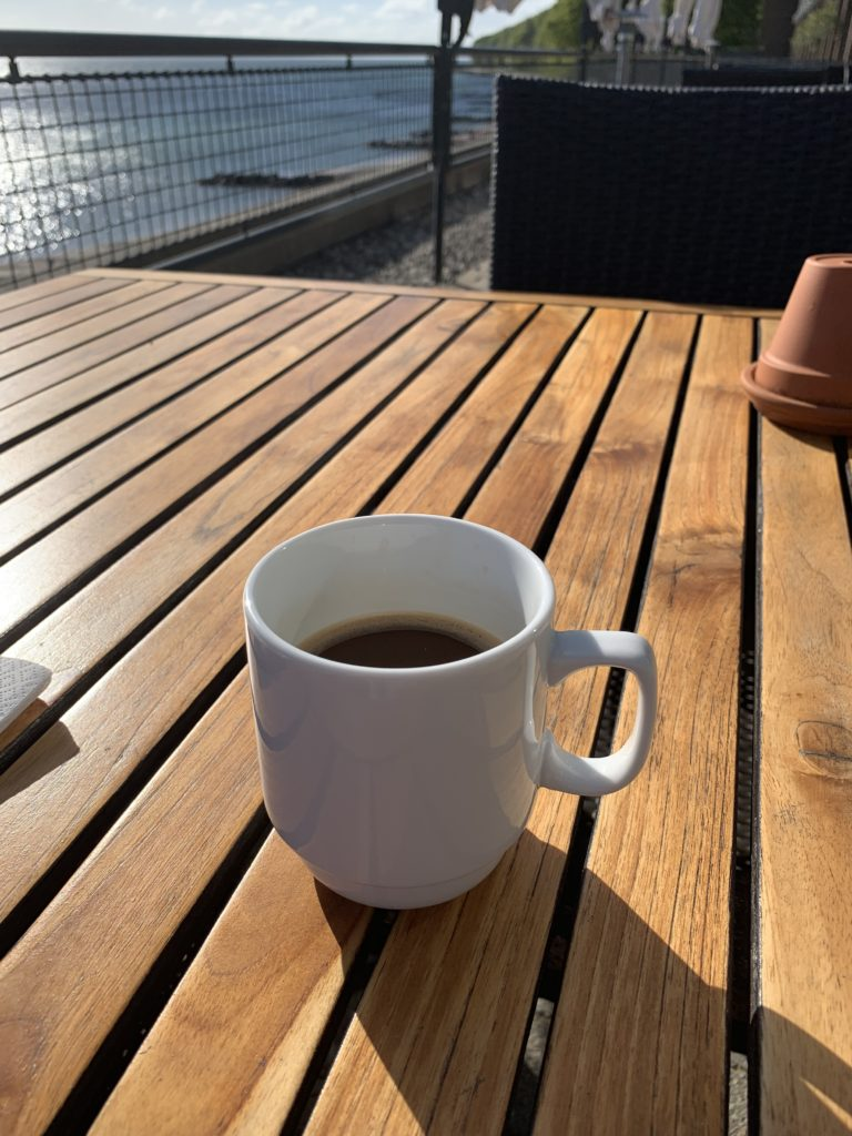 foodie's guide to Denmark: coffee by the sea