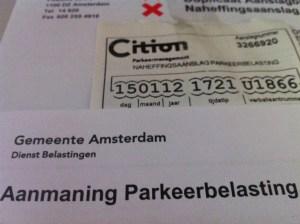 Digitale parkeerkaart, Amsterdam, blog overhaar, hoe aan te vragen, DigiD