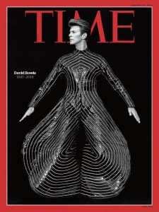 BOWIE Time Cover