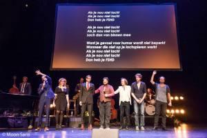 Dolf Jansen, Ronald Snijders, FSHD, Carre, Blog, Overhaar, Benefiet, Lachspierbal