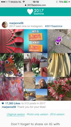 Instagram, overzicht 2017 #2017bestnine, blog, overhaar, advent,