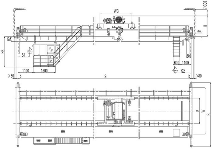 overhead crane electrical wiring diagram collateral ankle ligaments pdf great installation of 33 motor