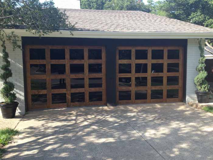 Custom Wood Doors by Overhead Garage Door LLC Dallas