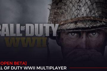 Call of Duty WW2 PC Open Beta