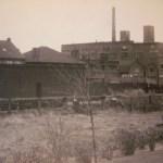 Op de plek waar Aad Neerscholten nu woont, stond vroeger de jamfabriek Cleo