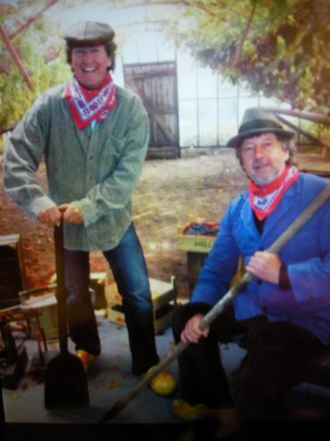 Links Peter Smit, rechts Ton Immerzeel