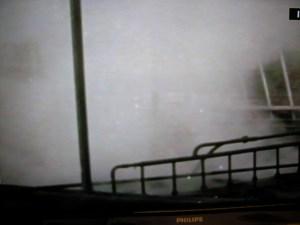 Veel stoom. Foto uit een filmpje hierover, dat op www.facebook.com/overhetwestland is te zien