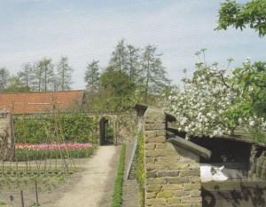 De historische tuin van het Westlands Museum