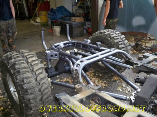 small resolution of  overkill off road jeep cj7 chassis