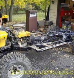 overkill off road jeep cj7 chassis [ 1024 x 768 Pixel ]