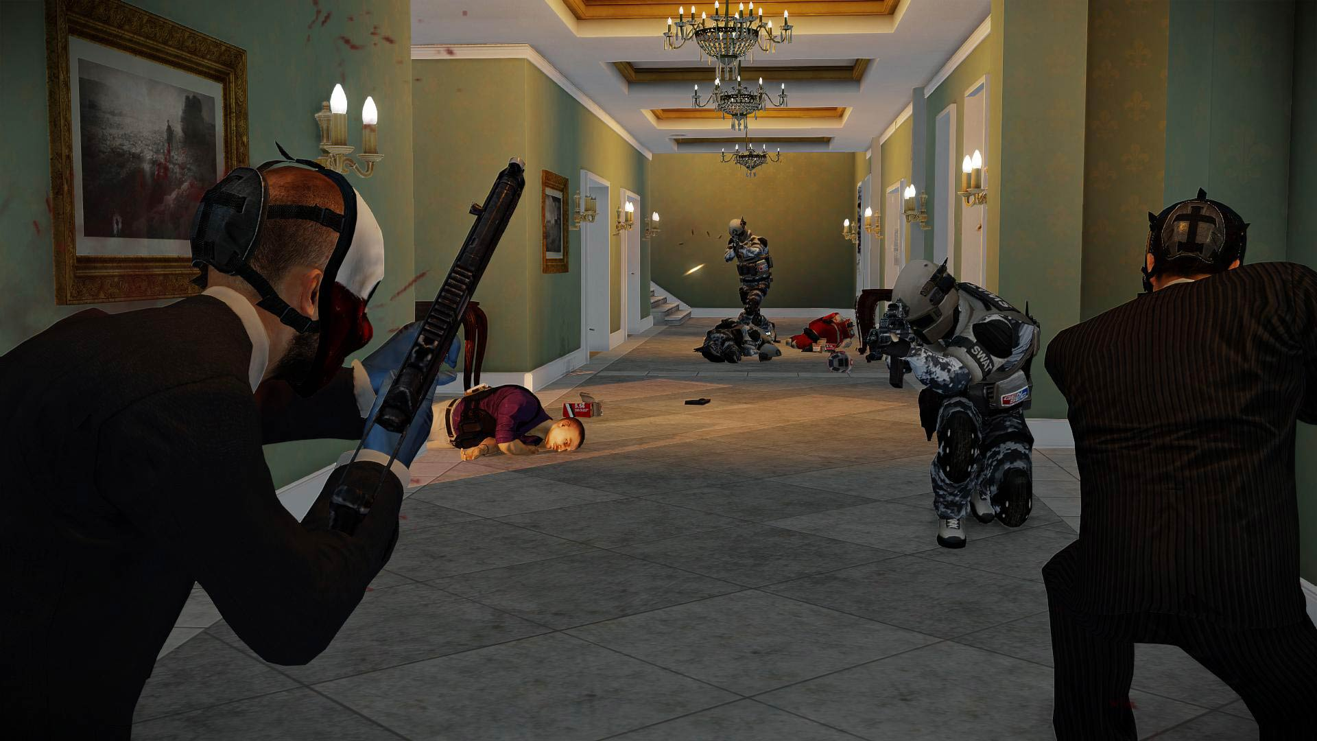 Payday 2 Scarface Packs Overkill Software