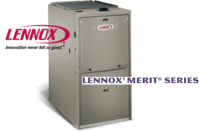 Lennox Merit Series High Efficiency Gas Furnace  Overlake ...